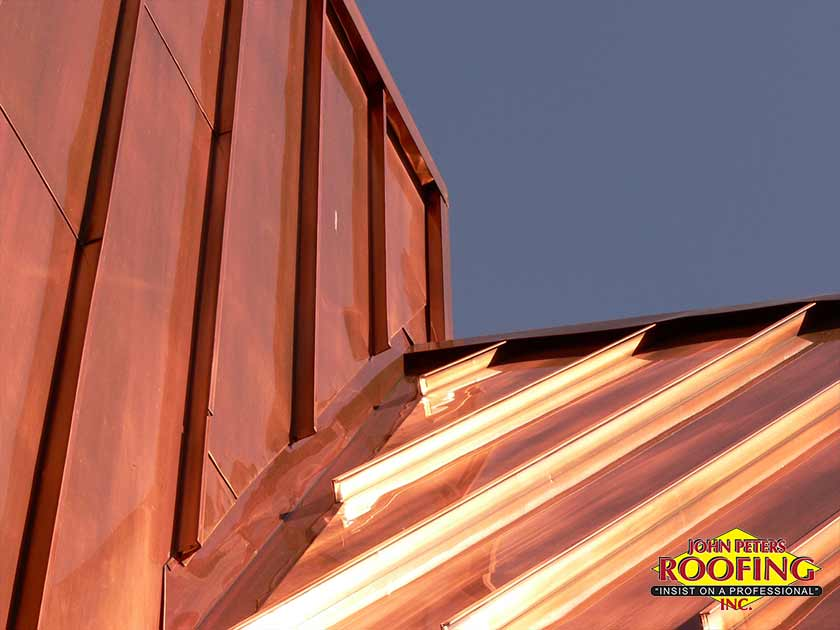 benefits of copper roofing